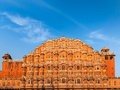 Hawa mahal palace jaipur rajasthan famouse landmark of the winds Royalty Free Stock Image