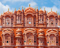 Hawa mahal palace in jaipur rajasthan of the winds Royalty Free Stock Photography