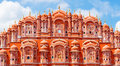 Hawa mahal palace in jaipur rajasthan of the winds Royalty Free Stock Photo