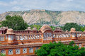 Hawa mahal palace in jaipur rajasthan of the winds india Royalty Free Stock Images