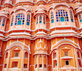 Hawa mahal palace palace of the winds in jaipur rajasthan india Royalty Free Stock Photos
