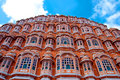 Hawa mahal palace palace of the winds jaipur rajasthan india famous landmark Stock Photo