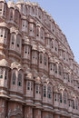 Hawa Mahal Palace of the Wind Stock Images