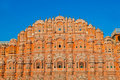 Hawa Mahal, the Palace of Winds, Royalty Free Stock Image