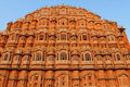 Hawa Mahal, the Palace of Winds. Stock Image