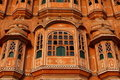 Hawa Mahal, the Palace of Winds. Stock Images