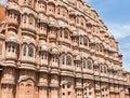 Hawa Mahal (palazzo dei venti o palazzo del Breez Immagini Stock Libere da Diritti