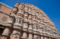 Hawa mahal the pink palace jaipur india Royalty Free Stock Photography