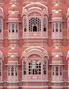 Hawa mahal pink palace view Royalty Free Stock Photo