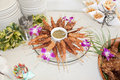 Hawaii coconut crunchy shrimp Royalty Free Stock Images