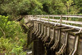 Hawaii Irrigation Bridge Stock Image