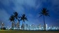 Hawaii Skyline At Night