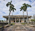 Hawaii State Capital Building. Royalty Free Stock Photo