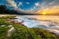 Hawaiian Sunset Royalty Free Stock Photo