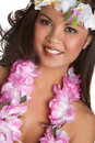 Hawaiian Woman Royalty Free Stock Photography