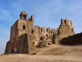 Hawk rohtas fort urdu قلعہ روہتاس qila rohtas is a historical garrison fort located near the city of jhelum in punjab Royalty Free Stock Image
