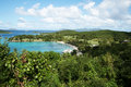 Hawks bay private beach rockefeller st john island american virgin islands Stock Image