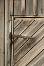 Hay Barn Door Royalty Free Stock Photography