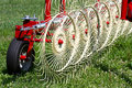 Hay Rake Royalty Free Stock Photo