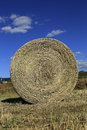 Hay rolls and stacks for front covers of magazines newspapers and billboards Royalty Free Stock Photos