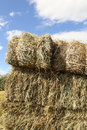 Hay stacks for front covers of magazines newspapers and billboards Royalty Free Stock Images