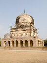 Hayath bakshi begum tomb part of the qutb shahi tomb complex in the golkonda area of hyderabad india the tombs are hundreds of Stock Photography