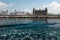 Haydarpasa train station central building istanbul turkey Stock Photos