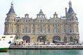 Haydarpasa Train Station in Winter Royalty Free Stock Photos