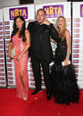 Hayley pearce anna davis nev wilshire at the nrta national reality tv awards held at the hmv forum london picture by henry harris Stock Photography
