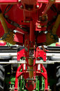 Haymaker machine detail agriculture industries theme Stock Images