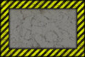 Hazard background warning lines black and yellow Stock Photo