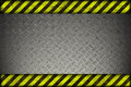 Hazard background warning lines black and yellow Stock Photos