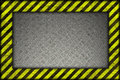 Hazard background warning lines black and yellow Stock Image