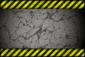 Hazard background warning lines black and yellow Stock Images