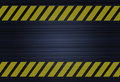 Hazard stripes Stock Photography