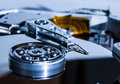 Hdd hard disk drive Stock Image