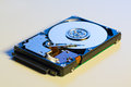 Hdd open device close up Stock Photo