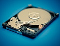 Hdd open device close up Royalty Free Stock Photos