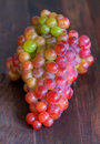 HDR Grapes Royalty Free Stock Photos