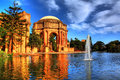 HDR of Palace of Fine Arts