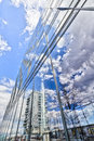 HDR shot of an office building in Berlin Treptow Royalty Free Stock Photo