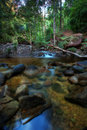 HDR Waterfall or stream Royalty Free Stock Image