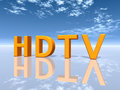 HDTV Royalty Free Stock Images