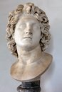 Head of Alexander the Great Stock Images