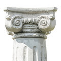 Head of Column Royalty Free Stock Photo