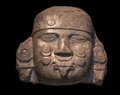 Head of Coyolxauhqui Stock Image