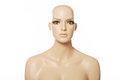 Head of a female mannequin face Royalty Free Stock Photo