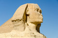 Head of the Great Sphinx of Giza, Egypt Royalty Free Stock Photos