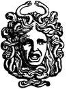 Head of Medusa Stock Image