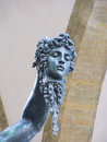 Head of medusa cut by perseo Royalty Free Stock Photo
